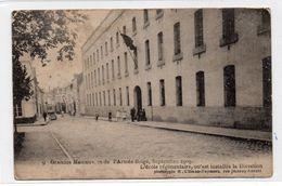 Ath  , La Caserne .Série : Grandes Manoeuvres De L'armée Belge Septembre 1909. - Ath