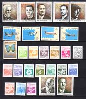 1985-87 Nicaragua, Séries Compl.  Entre Yv. 1419 Et PA 1170**, Cote 36 € Papillons Faune Avions... - Nicaragua