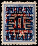 "~~~ Netherlands 1923 - Overprint  ""Opruiming"" Perf 11½x11 - NVPH 133 A * MH  ~~~ - Periode 1891-1948 (Wilhelmina)"