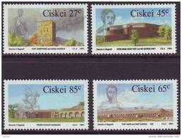 D90819 Ciskei South Africa 1991 MILITARY FORTS 1st BOER WAR MNH Set - Afrique Du Sud Afrika RSA Sudafrika - Ciskei