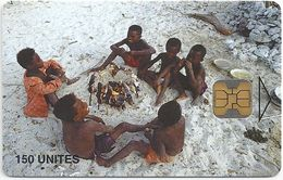 Madagascar - Telecom Malagasy - Children Cooking 2 - 150Units, OB2, 50.000ex, Used - Madagascar