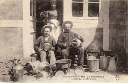 PUY- DE- DÔME  -   388 - LA BOURBOULE   L'ÉTAMEUR DE MIREMONT - La Bourboule