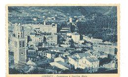P 106) LEVANTO - PANORAMA E VECCHIE MURA NV - La Spezia