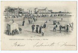 Boulogne Sur Mer La Plage Et Le Casino - Boulogne Sur Mer