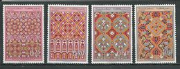 MAROC Scott 195-198 Yvert 561-564 (4) ** Cote 13,00 $ 1968 - Maroc (1956-...)