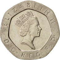 Monnaie, Grande-Bretagne, Elizabeth II, 20 Pence, 1993, TTB, Copper-nickel - 1971-… : Monnaies Décimales