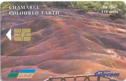 Mauritius - Chamarel Coloured Earth (With Logo) - 2003, Used - Mauritius