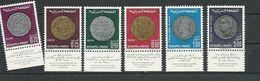 MAROC Scott 216-219, C16-C17 Yvert 578-581, PA117-PA118 (6) ** Cote 14,50 $ 1969 Avec Vignette - Maroc (1956-...)