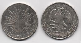 + MEXIQUE  + 8 REALES 1878 + - Mexico