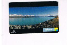 NUOVA ZELANDA - NEW ZEALAND - PUKAKI LAKE - USED -  RIF. 10404 - New Zealand