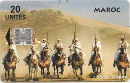 Morocco - Studio Jauson - Horse Riders (no Shop Info) - 20Units, Used - Morocco