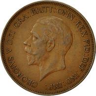 Monnaie, Grande-Bretagne, George V, Penny, 1936, TTB, Bronze, KM:838 - 1902-1971 : Monnaies Post-Victoriennes