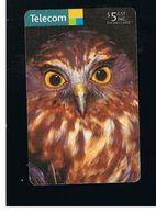 NUOVA ZELANDA - NEW ZEALAND - BIRDS: NINOX NOVAESEELANDIAE    - USED -  RIF. 10404 - New Zealand