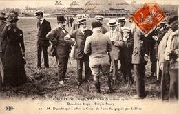 CIRCUIT DE L'EST D'AVIATION  AOUT 1910   - DEUXIÈME ÉTAPE   - TROYES-NANCY - Meetings