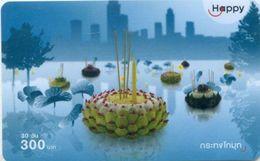 Mobilecard Thailand - Happy - Tradition - Loy Krathong - Lichterfest (2) - Thaïland