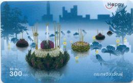 Mobilecard Thailand - Happy - Tradition - Loy Krathong - Lichterfest (4) - Thaïland