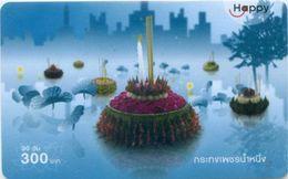 Mobilecard Thailand - Happy - Tradition - Loy Krathong - Lichterfest (5) - Thaïland