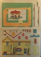 MAISON MODÈLE INAUGURÉE EN 1903 PAR Mr LOUBET LA SOCIÉTÉ EPARGNE DES RETRAITES Dim 37.5 X 55cm Déployé -plié 18.5 X 27,5 - Architecture