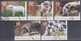 NUEVA ZELANDA 2007 Nº 2297/01 USAD0 - Nueva Zelanda