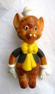 RARE FIGURINE EX.IN.CO DISNEY - 60's - NIF NIF LES TROIS PETITS COCHONS - Figurines
