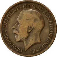 Monnaie, Grande-Bretagne, George V, Penny, 1915, TB, Bronze, KM:810 - 1902-1971 : Monnaies Post-Victoriennes