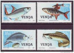 D90819 Venda South Africa 1987 FISH TIGERS BREAM MNH Set - Afrique Du Sud Afrika RSA Sudafrika - Venda