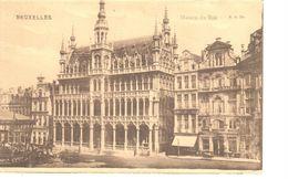 Bruxelles - CPA - Brussel - Maison Du Roi - Bossen, Parken, Tuinen