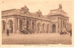 Bruxelles - CPA - Brussel - La Gare Du Midi - Spoorwegen, Stations