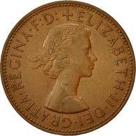 Monnaie, Grande-Bretagne, Elizabeth II, Penny, 1963, TB, Bronze, KM:897 - 1902-1971 : Monnaies Post-Victoriennes