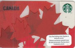 CANADA - Canada, Starbucks Card, CN : 6078, Unused - Gift Cards