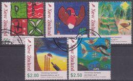 NUEVA ZELANDA 2007 Nº 2359/63 USADO - Usados