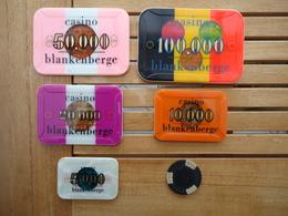 CASINO BLANKENBERGE 500+5.000+10.000+20.000+50.000+100.000 FRANCS        ( 1 Scans ) - Casino