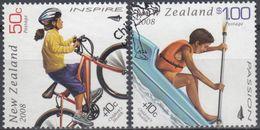 NUEVA ZELANDA 2008 Nº 2415/16 USADO - Nueva Zelanda