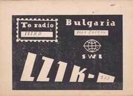 CARTOLINA - POSTCARD - BULGARIA - RADIO AMATORI - Bulgaria