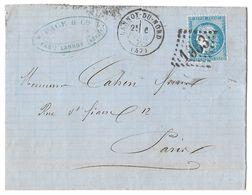 LETTRE Avec N°60/1; 65 G1 ; 2ème état ;   TTB - 1871-1875 Cérès