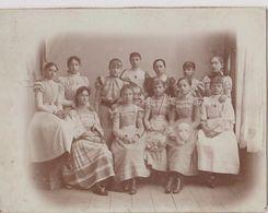 HR79A  -- CABINET  PHOTO,  CDV  -- CROATIA, ZAGREB  --   IV. GIMNAZIJA  --   1898  --   20,6 Cm  X 15,6 Cm - Photographs