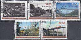 NUEVA ZELANDA 2008 Nº 2444/48 USADO - Nueva Zelanda