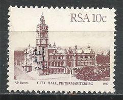 South Africa 1982. Scott #576 (U) City Hall, Pietermaritzburg * - Afrique Du Sud (1961-...)
