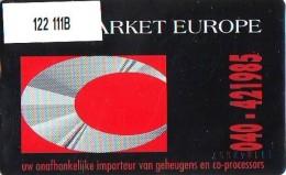 Telefoonkaart  LANDIS&GYR  NEDERLAND * RCZ.122  111B * Chip Market Europe 1 *  TK * ONGEBRUIKT * MINT - Privé
