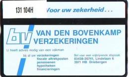 Telefoonkaart  LANDIS&GYR  NEDERLAND * RCZ.131  104H * Van Den Bovenkamp 2 *  TK * ONGEBRUIKT * MINT - Nederland