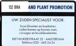 Telefoonkaart  LANDIS&GYR  NEDERLAND * RCZ.132  109A * Silk Flower *  TK * ONGEBRUIKT * MINT - Pays-Bas