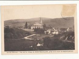 58 MONTREUILLON VUE PRISE DE LA ROUTE DE MONTCHENU CPA BON ETAT - Francia