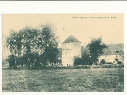 58 GUIPY CHATEAU DE GRANDPRE  CPA BON ETAT - Francia
