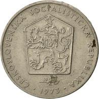 Monnaie, Tchécoslovaquie, 2 Koruny, 1973, TTB, Copper-nickel, KM:75 - Czechoslovakia