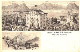 Hotel Adler Pension Lugano - TI Tessin