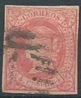 ESPAGNE SPANIEN SPAIN ESPAÑA  1864 Isabel II 2 Cuartos ED 63 MI 55 YV 59 SG 75 SC 61 - 1850-68 Kingdom: Isabella II