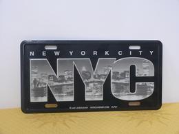 """Plaque Souvenir """"NEW YORK"""" - Advertising (Porcelain) Signs"""