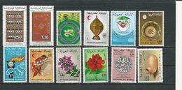 MAROC  Voir Détail (12) ** Cote 7,30 $ 1982-96 - Maroc (1956-...)