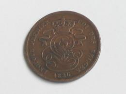 2 Centimes 1836 - Belgique - Léopold Premier Roi Des Belges  **** EN ACHAT IMMEDIAT **** - 1831-1865: Léopold I