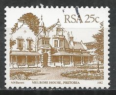 South Africa 1982. Scott #584 (U) Melrose House, Pretoria * - Afrique Du Sud (1961-...)